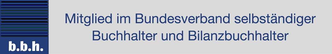 Mitglied Bundesverband selbstständiger Buchhalter und Bilanzbuchhalter