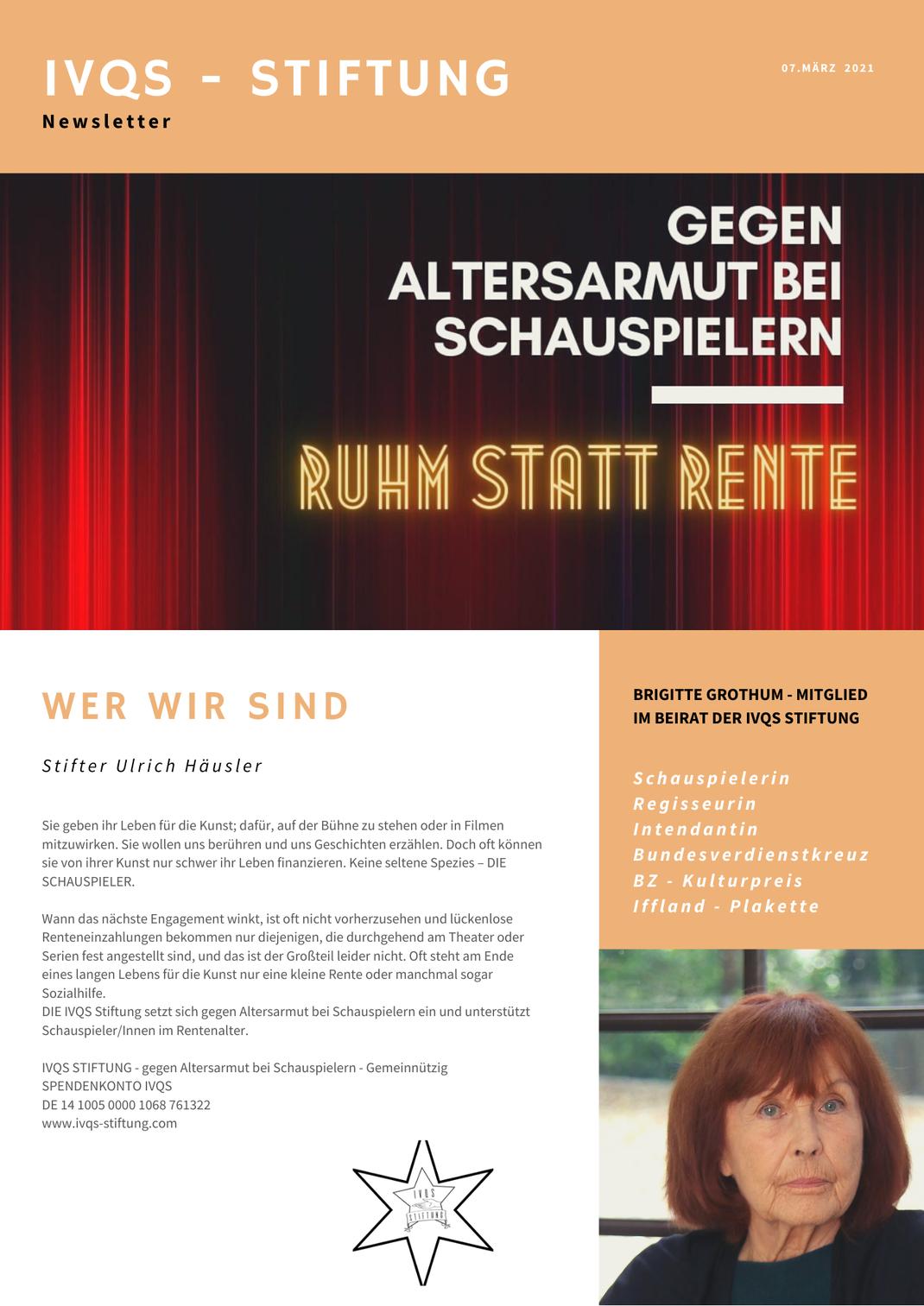 Klick auf das Poster führt zum  Bericht im  Bundesverband deutscher Stiftungen