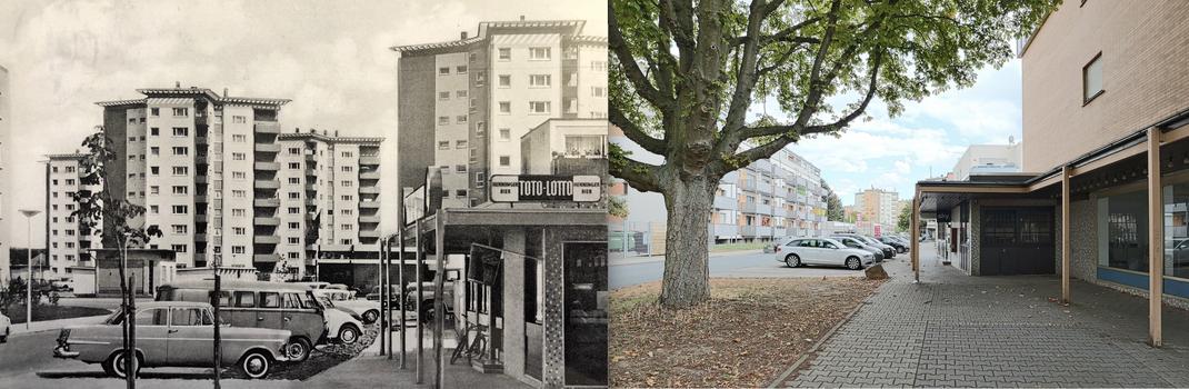 Hassloch Nord - In den 60ern und heute
