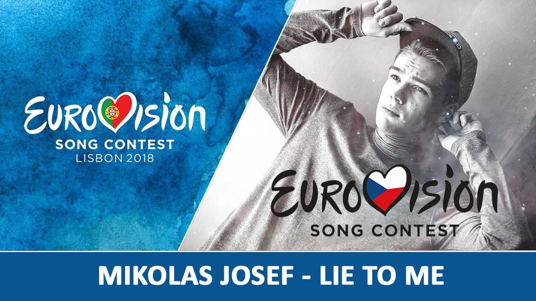 """ESC 2018 – CZECH REPUBLIC: Mikolas Josef """"Lie To Me"""" - Larry"""