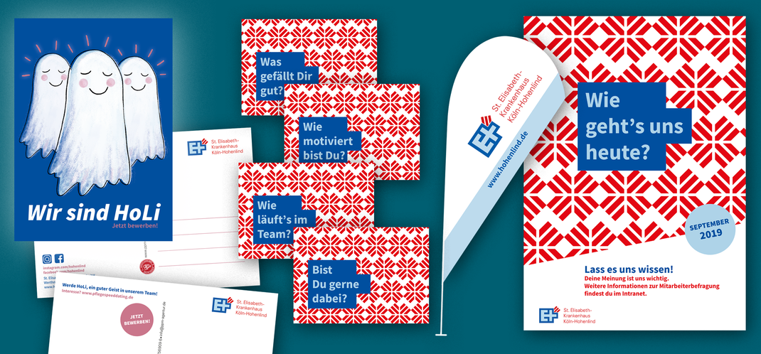 Corporate Design, Postkartendesign, Designagentur, Köln, Köln-Nippes, Posterdesign, Hohenlind, Illustration, Büro Petrol, Köln-Nippes