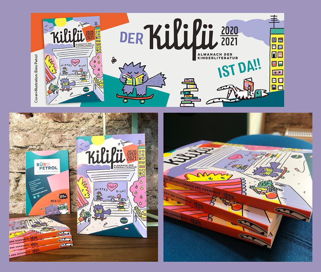 Kilifü, Katzen, Kinderbücher, Kinderliteratur, Illustration, Köln-Nippes, Banner, Designagentur, Köln, Katzenillustration, Comic