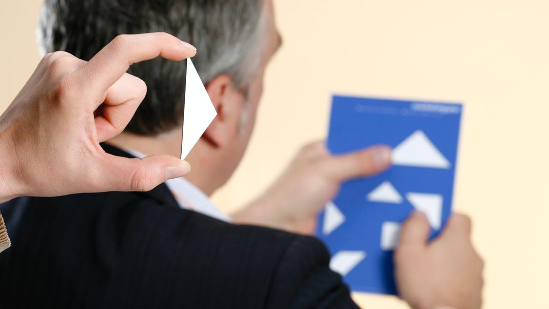 Kommunikation handlungsorierentiert und sichtbar, wirksam echt lernen als Tangram-Methode
