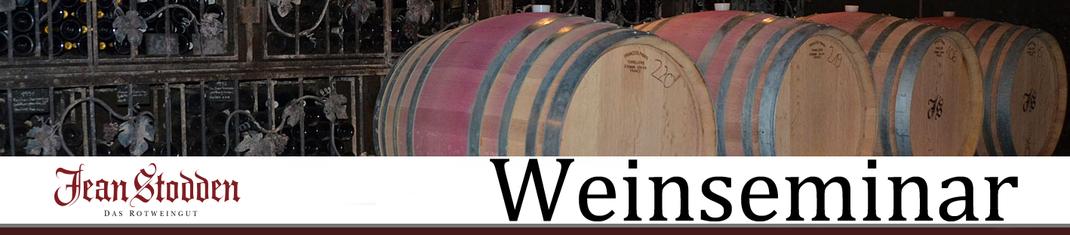 Luxuriöses Weinprobenseminar im VDP Rotweingut an der Ahr Jean Stodden