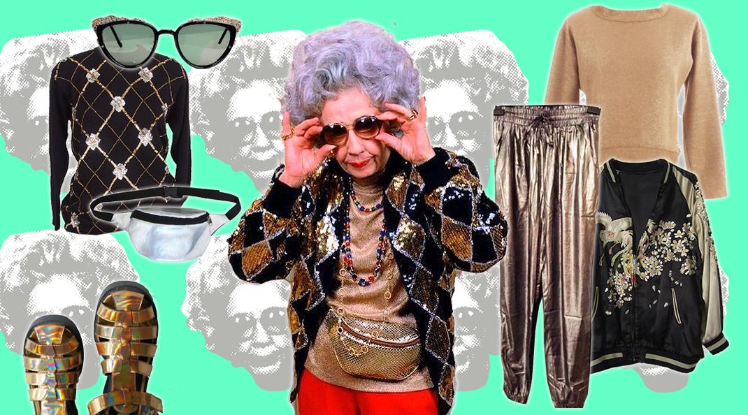 Styleing-Vorbild: Oma Yetta, Die Nanny