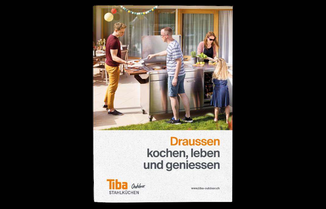 Katalog Broschüre TIBA Outdoorküchen by Innenraum Rattenberg