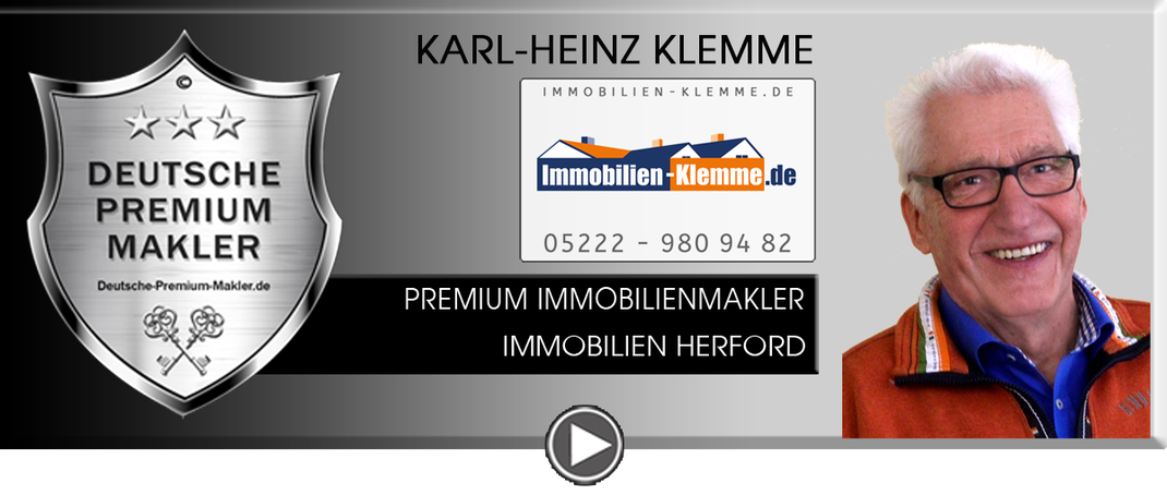 IMMOBILIENMAKLER HERFORD KARL HEINZ KLEMME IMMOBILIEN MAKLER IMMOBILIENANGEBOTE MAKLEREMPFEHLUNG