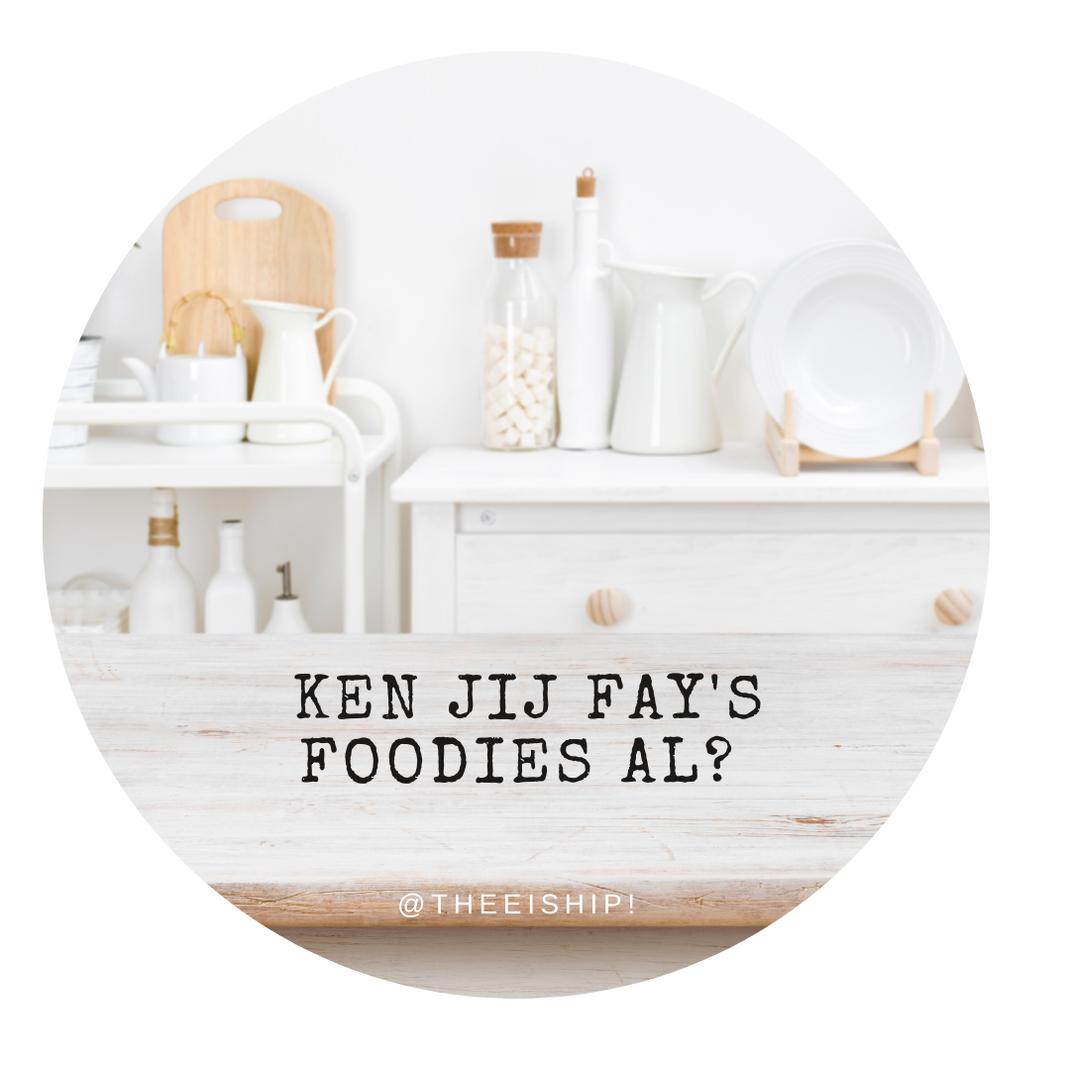 Fay's foodies uit Oud Rijswijk. By Thee is Hip!
