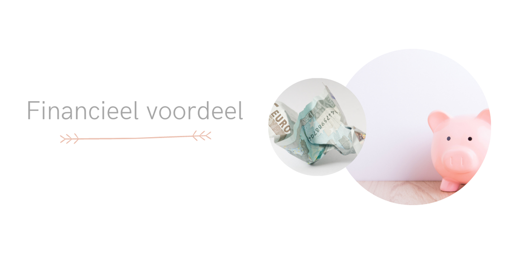 Financieel voordeel door minimalisme. By Thee is HIp!