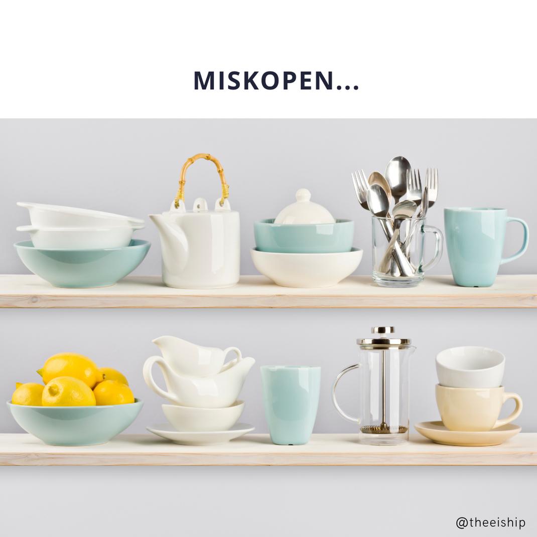 Ontspullen, minimalisme in de keuken by Thee is Hip!