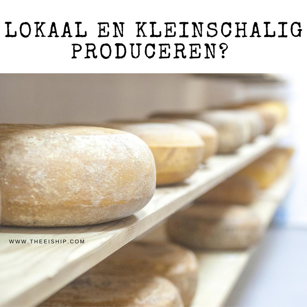 Kunnen we niet beter lokaal en kleinschalig produceren? By Thee is Hip!