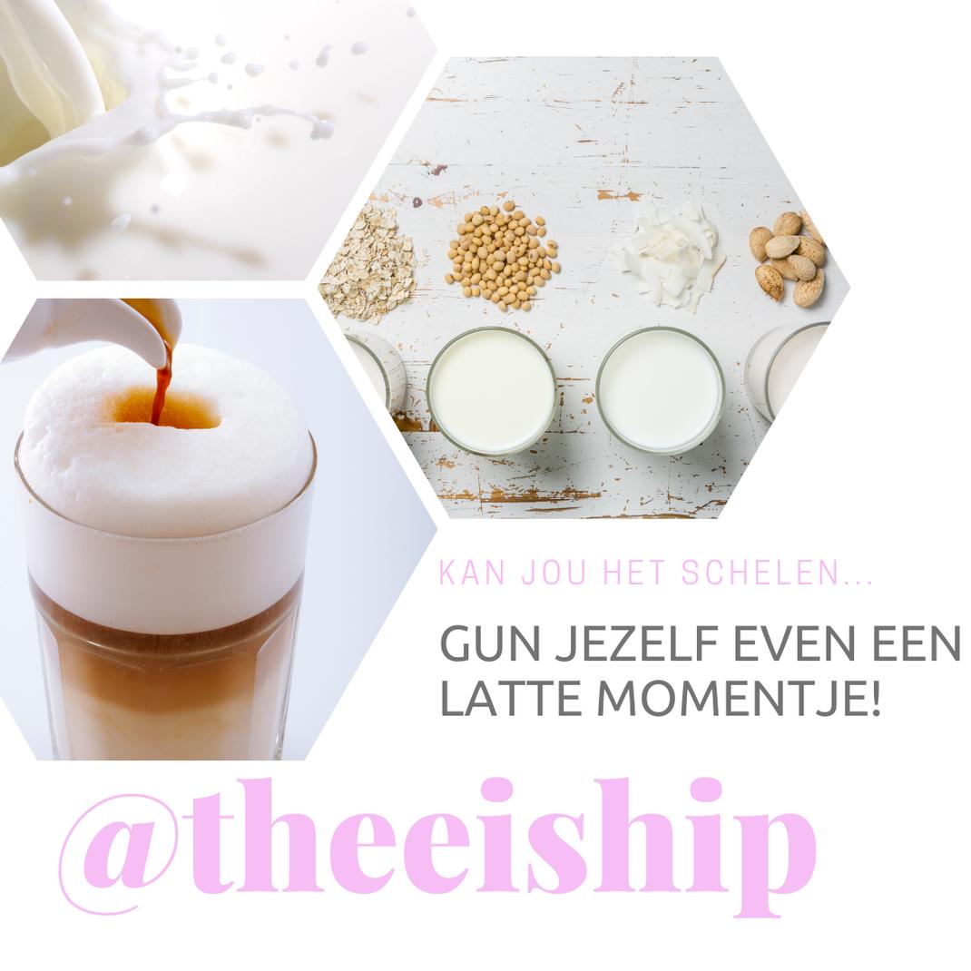 Gun jij jezelf een latte momentje thuis? By Thee is Hip!