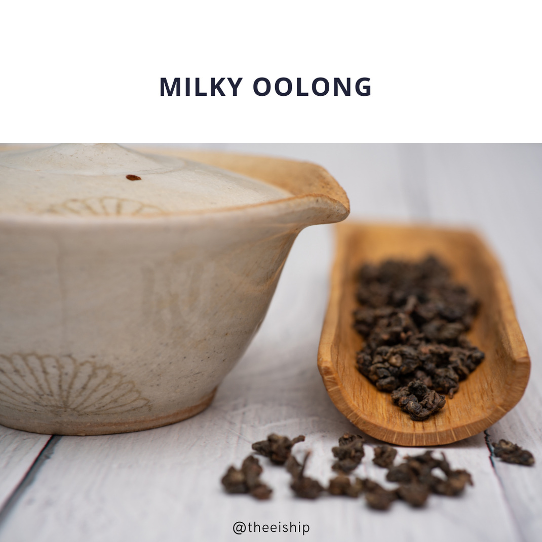Milky oolong by Thee is Hip!