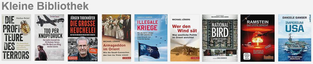 Stop the WAR in Yemen - Kleine Bibliothek