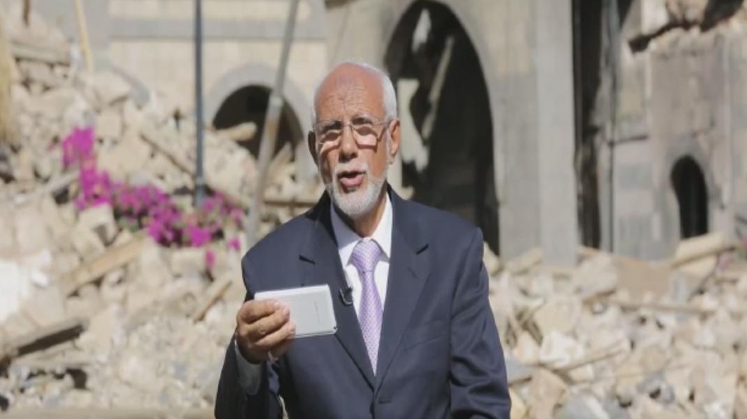 Abdulelah Hajar - Berater des Präsidenten des Obersten Politischen Rates des Jemen für diplomatische Angelegenheiten in Sana'a