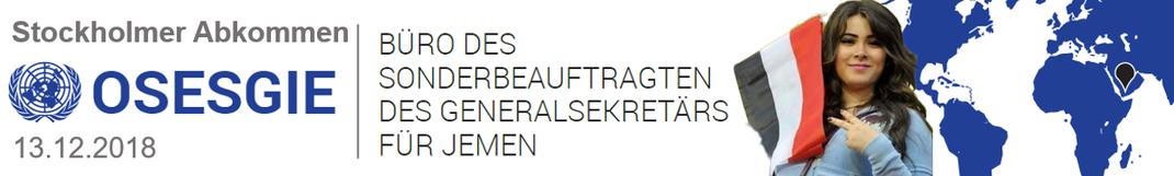 Krieg im Jemen - 18.03.2018 - UN - Stockholmer Abkommen VOLLTEXT DES STOCKHOLMER ABKOMMENS
