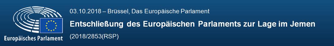Entschließung des Europäischen Parlaments zur Lage im Jemen
