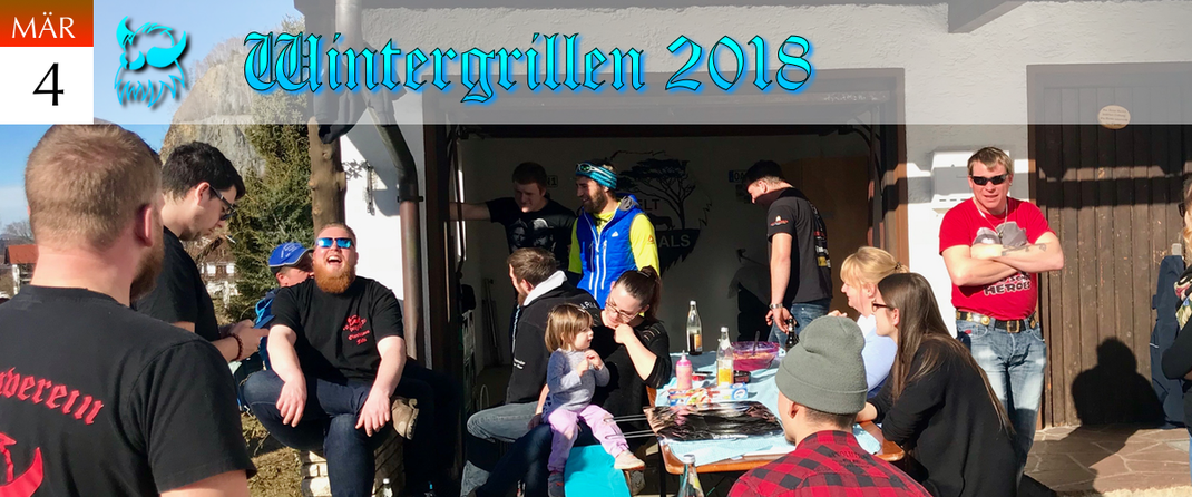 KVSF Klausenverein Sonthofen e.V. Wintergrillen 2018 Challenge