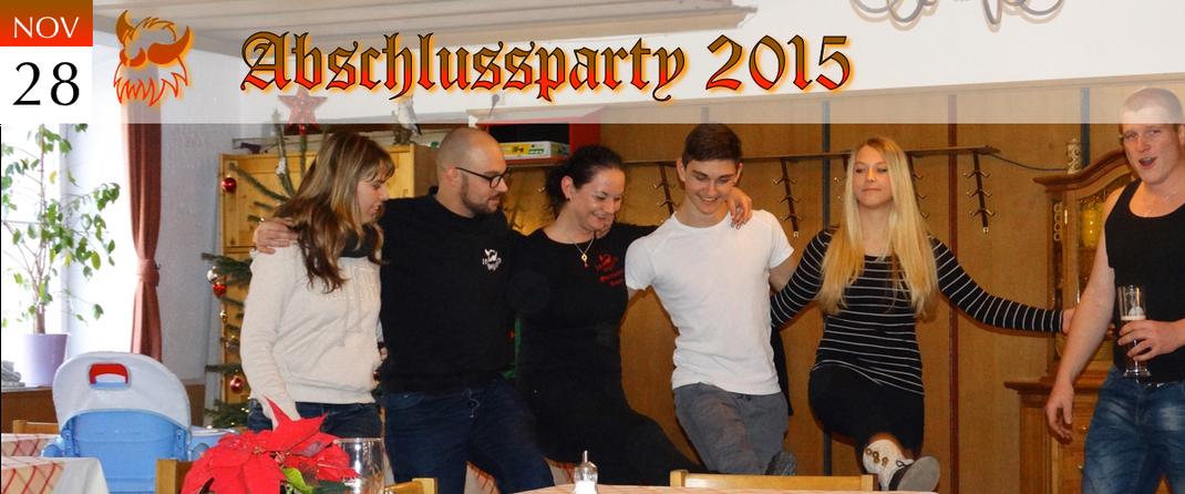 KVSF Klausenverein Sonthofen e.V. Abschlussparty 2015