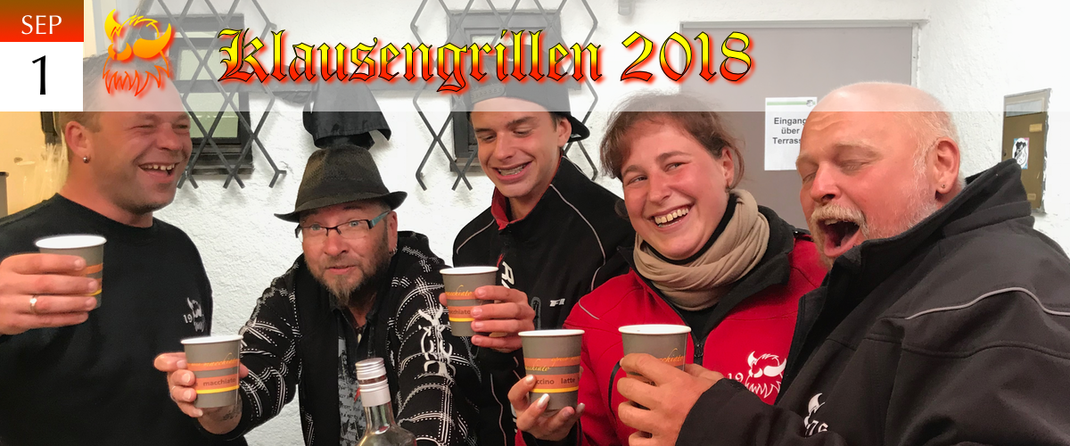 KVSF Klausenverein Sonthofen e.V. Klausengrillen 2018