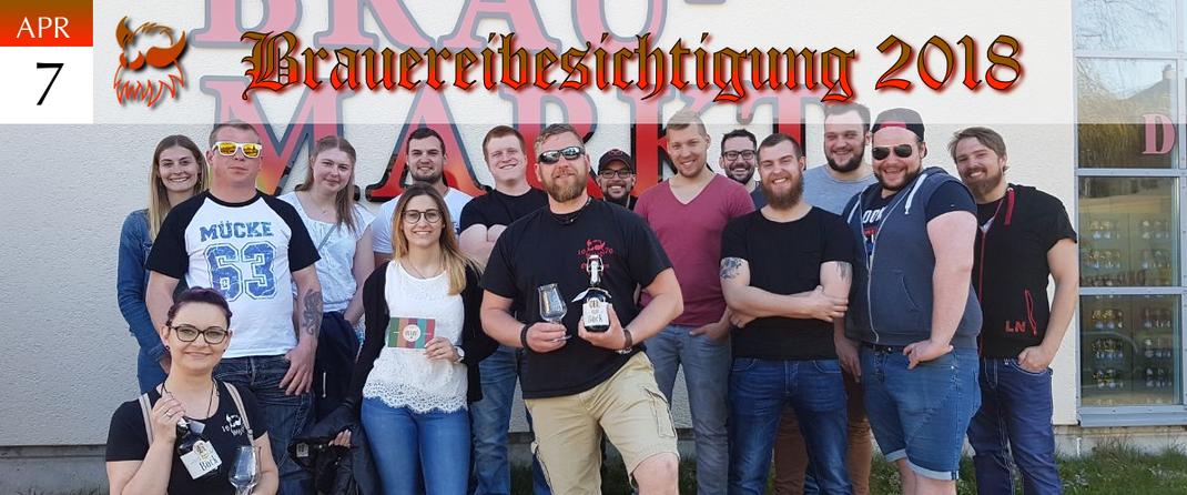KVSF Klausenverein Sonthofen e.V. Brauereibesichtigung 2018