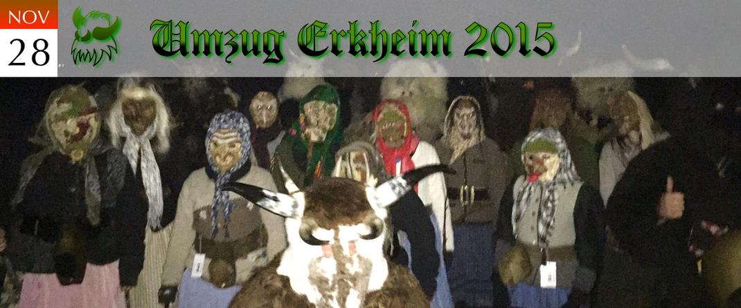 KVSF Klausenverein Sonthofen e.V. Umzug Erkheim 2015