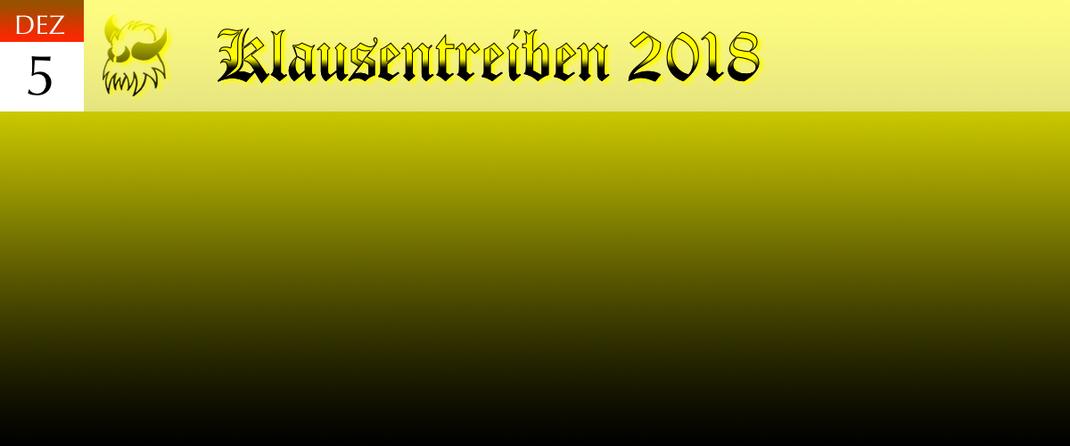 KVSF Klausenverein Sonthofen e.V. Klausentreiben 2018