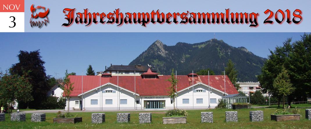 KVSF Klausenverein Sonthofen e.V. Jahreshauptversammlung 2018