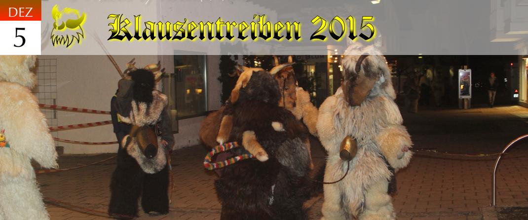 KVSF Klausenverein Sonthofen e.V. Klausentreiben 2015