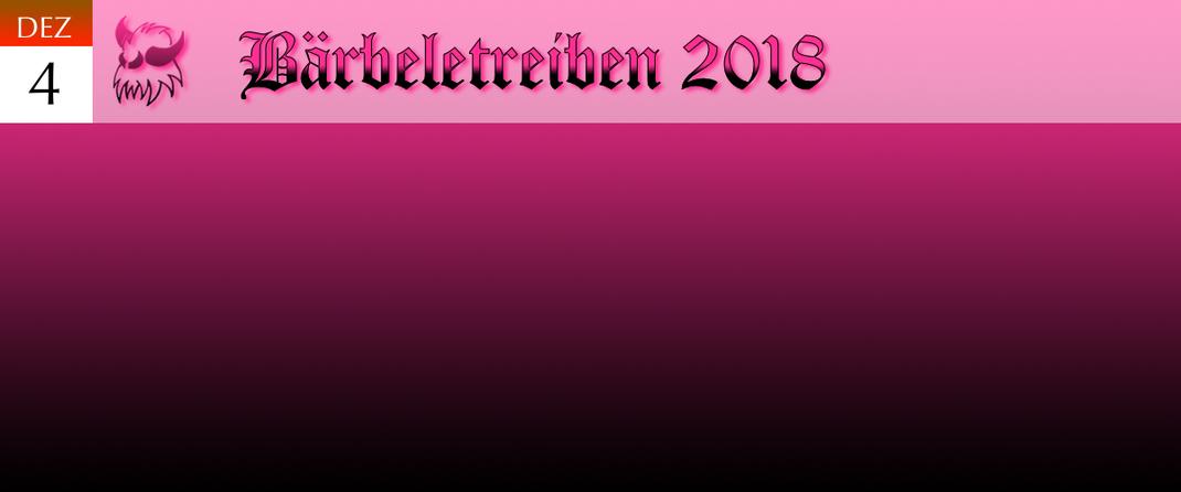 KVSF Klausenverein Sonthofen e.V. Bärbeletreiben 2018