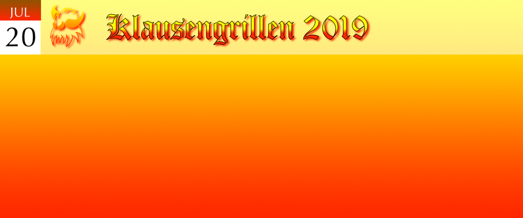 Klausengrillen 2019 Klausenverein Sonthofen e.V.