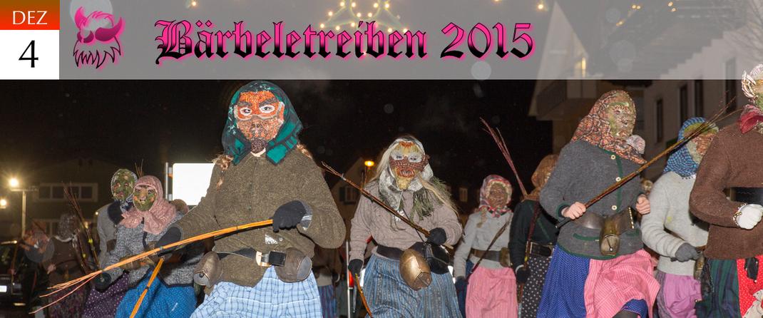 KVSF Klausenverein Sonthofen e.V. Bärbelertreiben 2015