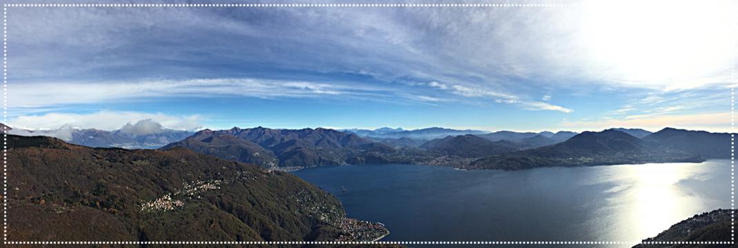 Cannero Lago Maggiore Richtung Locarno