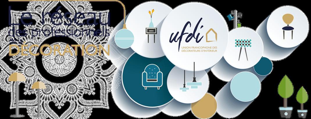 Décoratrice dans le réseau de l'UFDI, Isabelle Mourcely décoratrice UFDI Tours 37000,  Chinon 37500, Indre et Loire, Centre Val de Loire