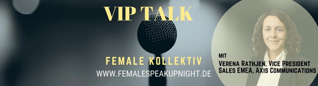 Female Kollektiv VIP Talk Female Speak Up Night Business Kollektiv