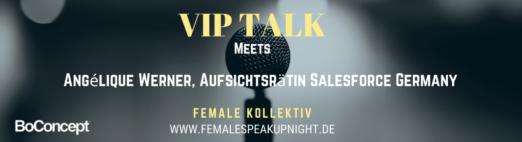 Female Kollektiv VIP Talk Female Speak Up Night Business Kollektiv