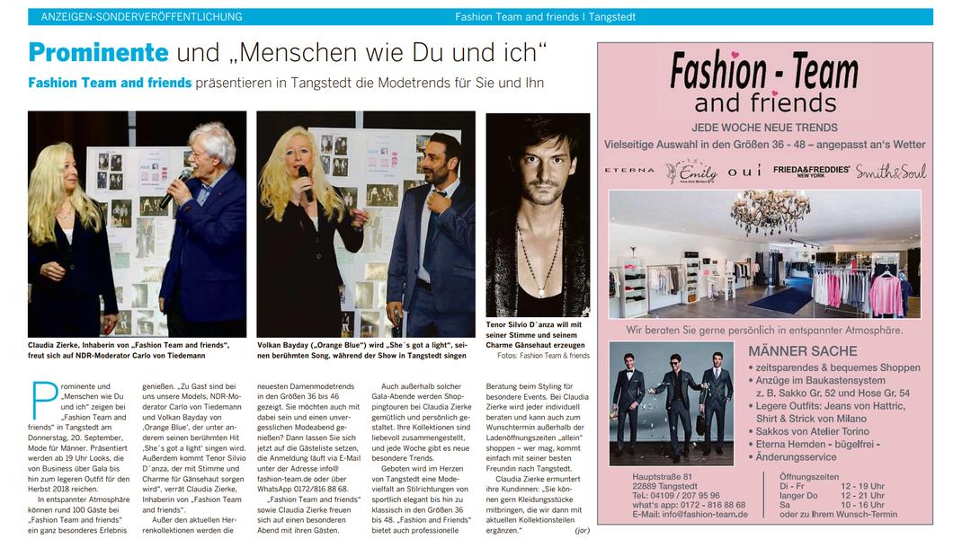 Hamburger Abendblatt, Donnerstag, 6. September 2018