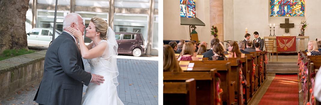 Hochzeitsfotos von Lynn Marie Zapp, Hochzeitsreportage, Trauung, Kirche Bochum