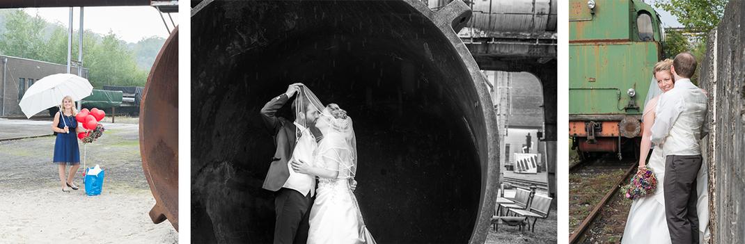 Hochzeitsreportage, Paarshooting, Henrichshütte in Hattingen