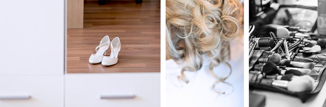 Hochzeitsfotos von Lynn Marie Zapp, Hochzeitsreportage, getting-ready, Bochum