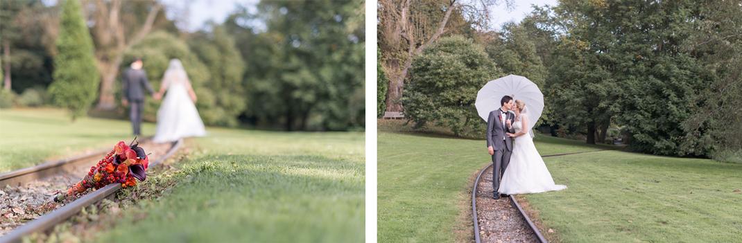 Hochzeitsfotos von Lynn Marie Zapp, Hochzeitsreportage, Paarshooting, Seepavillon im Westfalenpark in Dortmund
