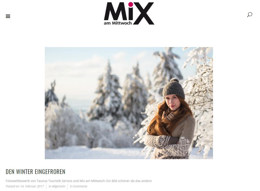 """Titelbild """"MiX am Mittwoch"""" Ausgabe vom 15.02.2017"""