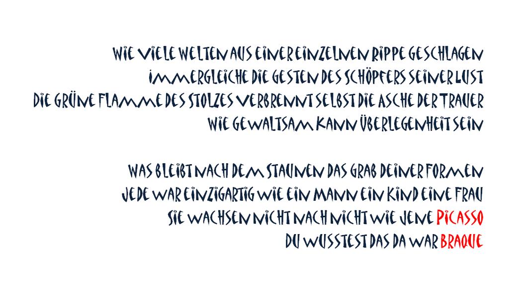 Heidrun Feistner: Picasso / Bild 1