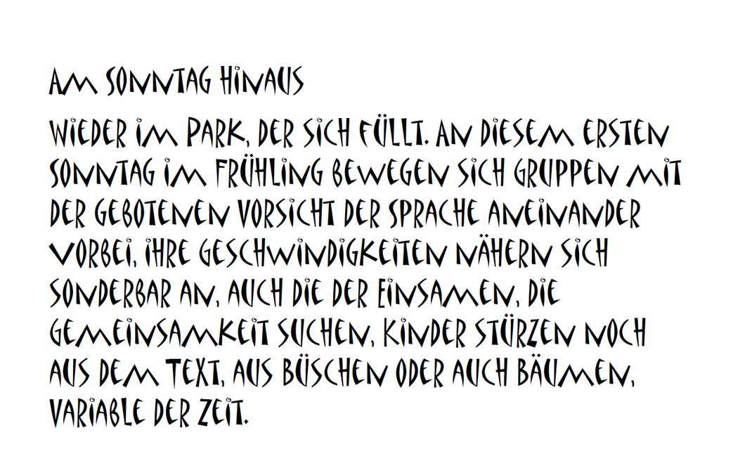 Heidrun Feistner: Am Sonntag hinaus / Bild 1
