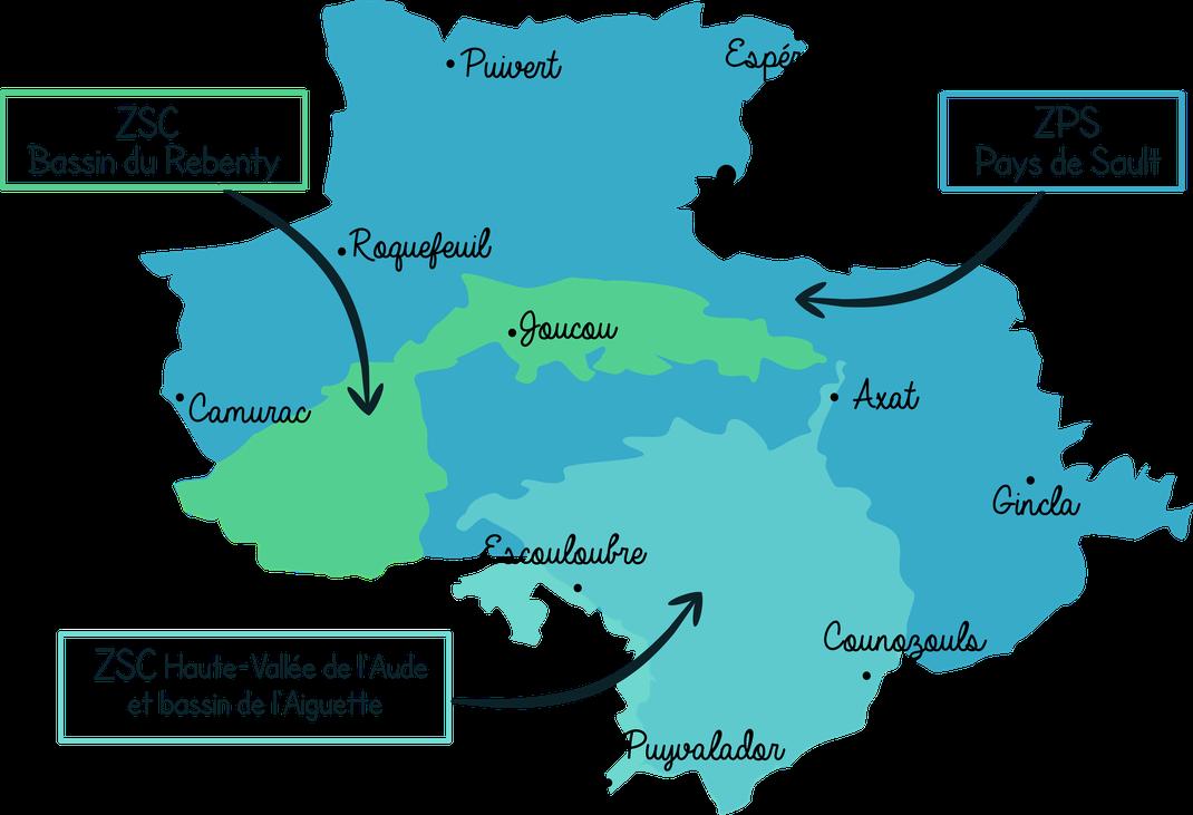 Sites Natura 2000 des Pyrénées Audoises