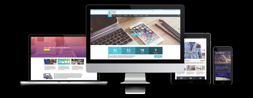 Création de site internet adapté aux mobiles et aux tablettes