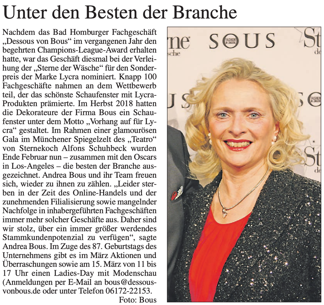 Bad Homburger Woche vom 07. März 2019