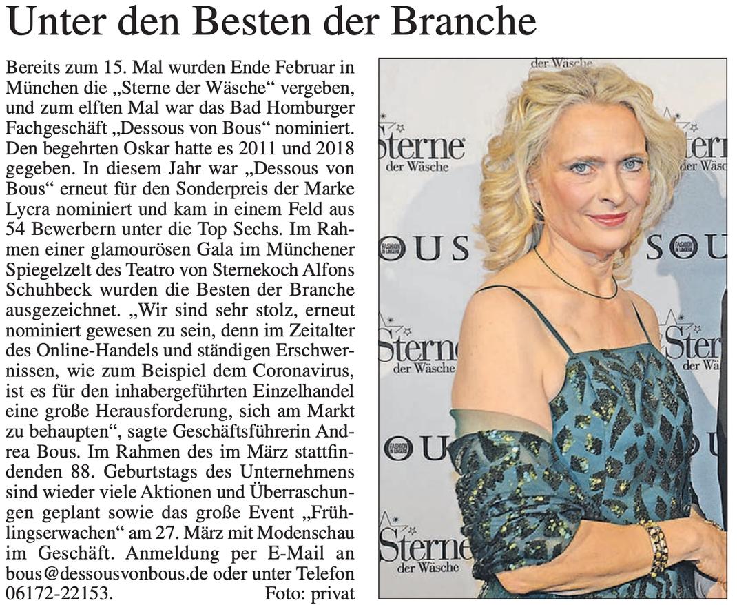 Bad Homburger Woche vom 05. März 2020