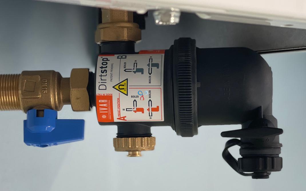 Il defangatore magnetico obbligatorio per l'installazione delle caldaie a condensazione