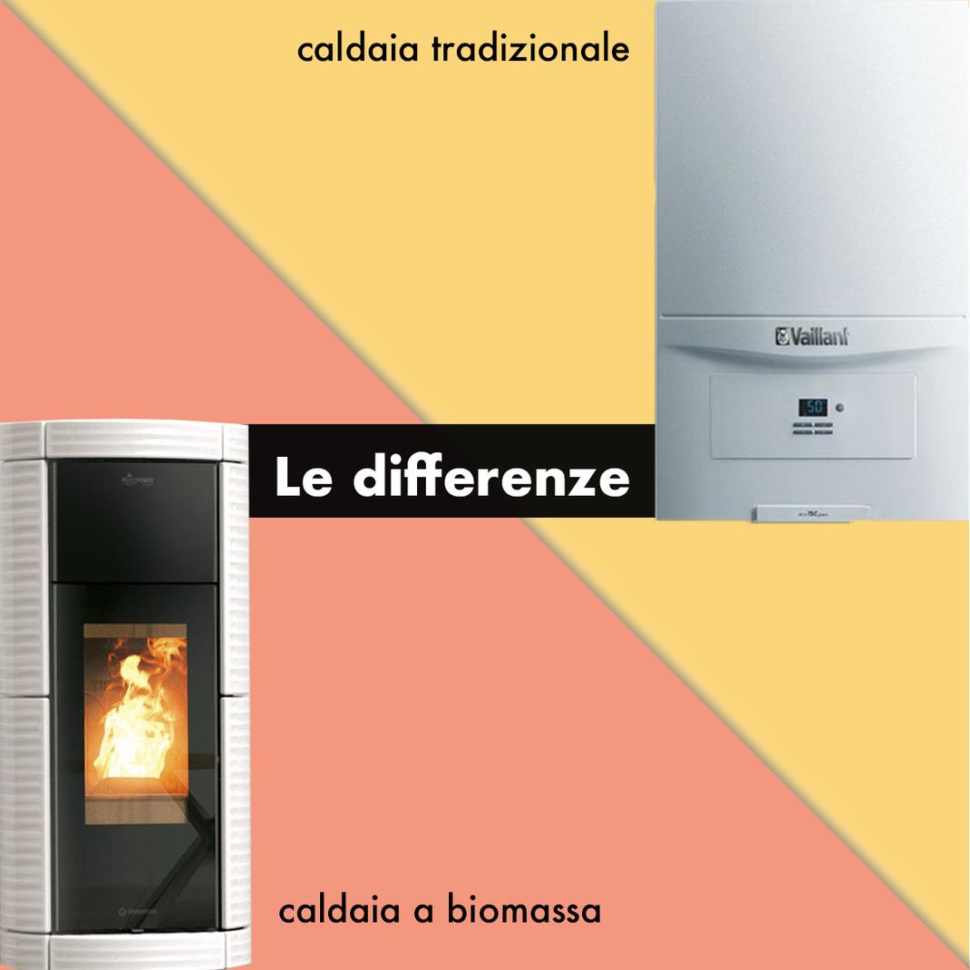 differenze tra caldaie tradizionali e caldaie a biomassa